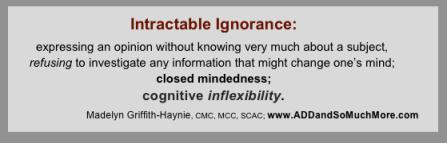 Intractible Ignorance