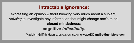 Intractible Ignorance