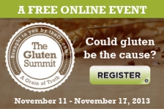 Gluten Summet Registration graphic and link