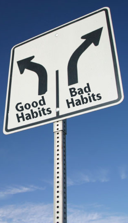 how to change a bad habit to a good habit
