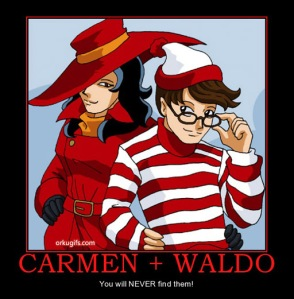Waldo, Carmen Sandiego and mgh