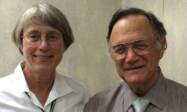 Ginger Campbell, MD and Edward Taub, PhD