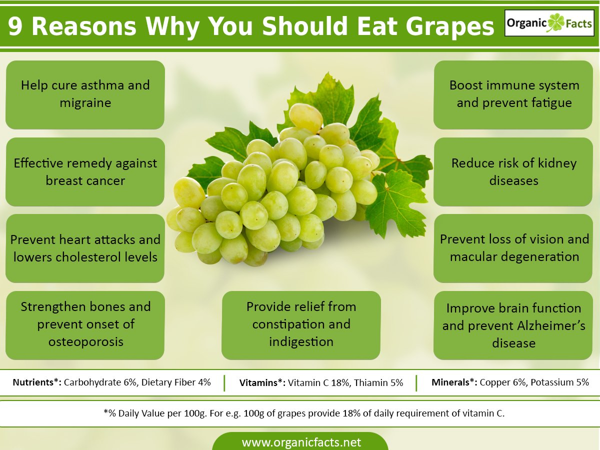 Grapes Boost Your Memory